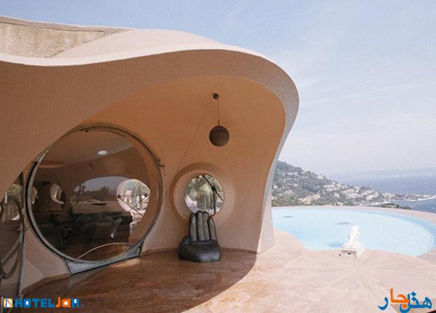 هتل حمزه مشهد هتل حبابی شکل در فرانسه+ عکس